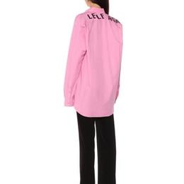 Роскошная Европа За Логотипом Печатная Розовая Рубашка Мужские Дизайнерские Куртки Высокого Качества Женская Пара Роскошная Черная Рубашка с Длинным Рукавом HFSSJK176 от Поставщики пара жакет черный розовый
