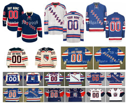 Authentisches hockey online-Kundenspezifische New York Rangers Jerseys Winter Classic Custom Annäher Jedes Name Jede Zahl Eishockey-Jersey Authentische Stickerei-Logos
