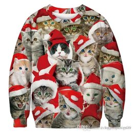 più i vestiti di natale di formato Sconti Natale inverno delle donne del progettista di stile con cappuccio girocollo a maniche lunghe Fshion Festival Femmina Stile Abbigliamento Plus Size Abbigliamento casual