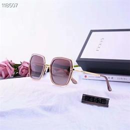 2019 Luxus-Qualität Classic Pilot Sonnenbrille Designer Brand Mens Womens Sonnenbrille Brillen Metall Glaslinsen mit Box von Fabrikanten