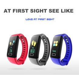 G5 Multifunzione Smart band Monitor LCD a colori Blood Pressure Smart Braccialetti Fitness Sport Orologio da polso Assistente di salute da yongnuo iii fornitori