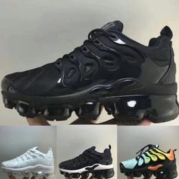 Zapatillas de chicas grandes online-nike TN air max airmax vapormax Big Kids Vapors TN Plus Designer Sports Zapatillas para correr Niños Boy Girls Entrenadores Tn zapatillas de deporte zapatos para niños pequeños