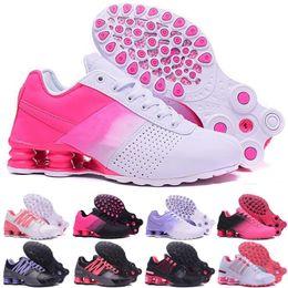 Le dimensioni delle scarpe delle donne delle ragazze online-2019 Il più nuovo Shox all'ingrosso famoso DELIVER OZ NZ Avenue ragazze Womens Athletic Sneakers Sport Outdoor Scarpe taglia 5.5-8.5.