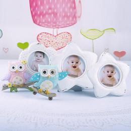 Deutschland Erinnerungen Liebe Baby süß Niedliche Eule Dekor Bilderrahmen Foto Momente Baby Keepsake Frame halten 2 Fotos # 40 Versorgung