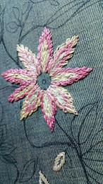 Appliques en tissu en Ligne-Coloré Fleur Dentelle Bordure Ruban Largeur Vintage Style Bordures Bordures Tissu Appliqué À La Couture Artisanat Décoration 10