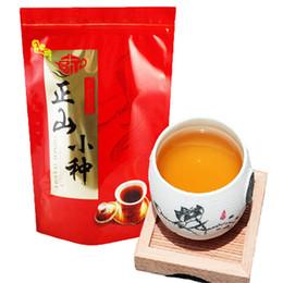 Fumare il tè nero online-Top Class Lapsang Souchong Tè nero 250g senza fumo Wuyi organico zhengshanxiaozhong rosso Tè verde cinese cibo Keemun tè nero