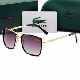 polarisierte sonnenbrille test Rabatt Luxus-Qualität Classic Pilot Sonnenbrille Designer Brand Mens Womens Sonnenbrille Eyewear Metal Glass Lenses138