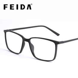 2019 goldene brücke sonnenbrille FEIDA Square Computer Brille Anti Blue Light Blocking Brille Klare Brillen für Herren Retro Herren Anti Blue Ray
