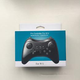 Manejar consolas de juegos online-Alta calidad para WiiU Gamepad Classic controlador inalámbrico para Nintendo Wii U Pro consola de juegos accesorios de mango