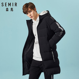 Asesmay 2018 men down jacket brand clothing high quality x long hoodies parka winter goose feather russian down coat thick warm