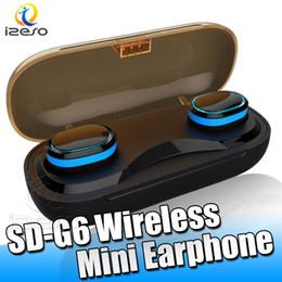 Empaquetado al por menor de auriculares online-T16 Wireless Bluetooth V5.0 Auriculares IPX7 Auriculares Estéreo A Prueba de agua Auto emparejamiento Mini Auriculares con Estuche de Cargador Embalaje al por menor izeso