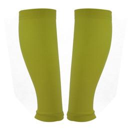 1 paio di calzettoni sportivi per il supporto esterno per le gambe Lega sportiva Compressione graduata per esercizio all'aperto Supporto per polpaccio Alta qualità Nuovo da tessuti di compressione all'ingrosso fornitori