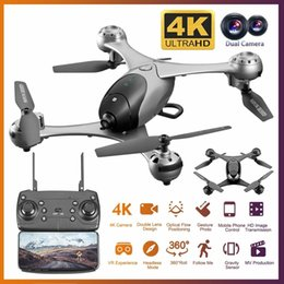 2020 quadcopters rc 4K HD Camera Drone com câmera HD Optical Fluxo de Posicionamento Quadrocopter Altitude Reter FPV Quadrotor RC T191016 helicóptero quadcopters rc barato