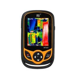 cabo do odômetro Desconto HT-A1 3.2 polegada Tela TFT Full View Termômetro Infravermelho Termovisor 0.3MP Camera Detector para Caça Ao Ar Livre