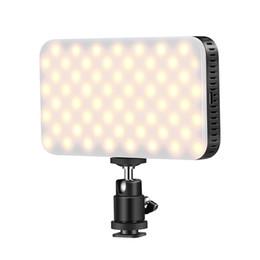Luz de video LED 2700-6500K LED para cámara de videocámara DSLR Luz de relleno para boda Noticias Entrevista Fotografía macro desde fabricantes