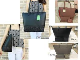 Bolsos de diseño de lujo famosa marca de viaje bolsas de viaje bolsas de mano bolso de embrague de gran capacidad buena calidad cuero de la PU 3 piezas brillo bolso conjunto desde fabricantes