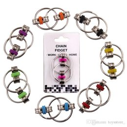 gagketten Rabatt Vent Spielzeug Dekompression Kette Dekompression Spielzeug erwachsene Metallfinger Dekompression Kette Spielzeug Neuheit Gag Finger Spielzeug