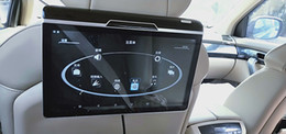 2019 televisores do painel do carro Ultra-fino 11.6 polegada monitor do carro Android headrest touchscreen 1920 * 1080 HD 1080 P Vídeo WI-FI USB SD HDMI Transmissor FM IR Bluetooth