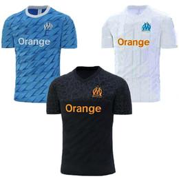 185efec584 2019 New Soccer Maglie Cheap marseille maglie tessuto di Alta qualità  Assorba il sudore magliette da calcio Personalizzabile maglia di Calcio  adulto
