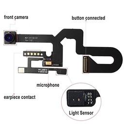 Lente flex on-line-De alta qualidade para iphone 5 5c 5s 6g 6 s além de 7 7 mais 8 plus x frente lente da cabeça da câmera com cabo flex