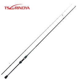 2019 señuelo tsurinoya TSURINOYA DEXTERITY 2.16m UL Carbon Spinning Fishing Rod Ultralight Lure Rod FUJI Accesorios Canne A Peche Hand Fishing Tackle señuelo tsurinoya baratos