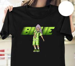 Coroa preta camiseta on-line-Billie Eilish Você deve ver-me em uma camisa do Crown T Preto Tamanho S Para Cotton New Men 3XL Verão T-shirt Top Tee Plus Size