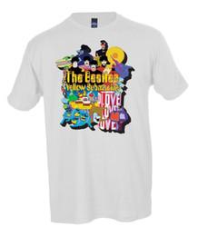 2019 logotipos de filmes Os Beatles Filme Logo Camisa Dos Homens Tamanhos Pequeno-5X 2018 de Alta qualidade Da Marca Dos Homens T shirt Ocasional de manga Curta O-pescoço Moda logotipos de filmes barato