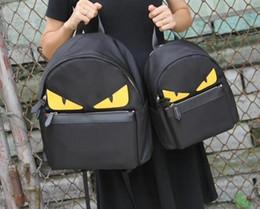 college-schule taschen für mädchen Rabatt 2019 New Echtes Leder Monster Look Handtasche Weiches Gesicht Retro Niedlichen College Wind Schultaschen Für Mädchen Im Teenageralter Designer Rucksäcke