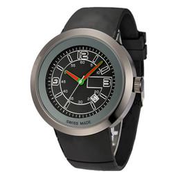 relogios grandes mulher Desconto 2019 homens e mulheres de luxo relógios de luxo grande movimento de quartzo relógio pulseira de borracha multicolor dial relógio esportivo olhar de moda de aço inoxidável