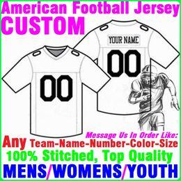 Camisa de basebol autêntica barata on-line-Camisas de futebol americano personalizado faculdade autêntica barato EUA ice Hockey Baseball Basquete Soccer jersey 4xl Bebê Juventude Womens Mens Kids