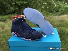 00325899686 2019 Newest Air 6 Doernbecher 15th Anniversary Retro CI6293-416 Midnight  Navy Men Basketball Shoes Authentic Sports Sneakers With Box