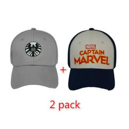 63b3e1e1c246b marvel baseball cap Coupons - Movie Captain Marvel Hat Carol Danvers  Cosplay Baseball Cap Unisex Summer