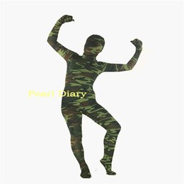 Custom Made full bodysuit Tiger leopard camo Zebrapattern Spandex Lycra Zentai Adult kids Halloween Animal Cosplay Costume от