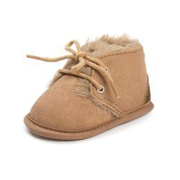 samt baby neugeborenen Rabatt Heiß!! Winter Warm Kleinkind Baby Schuhe Stiefel Samt Infant Erste Wanderer Weiche Sohlen Schuhe Junge Mädchen 0-24 Mt Neugeborenen Mokassins Schuhe für Babys