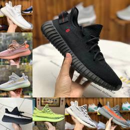 2020 Adidas Yeezy 350 Boost sply 350 V2 Yeeyz Boots Schuhe Günstige Belgua 2.0 V2 Zebra Semi Gefrorenes Gelb Schwarz Sport Schuhe Designer Turnschuhe