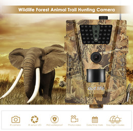 Capteur infrarouge étanche en Ligne-Caméra de chasse 12MP 1080P 30pcs Infra LEDs 850nm Caméra de piste Jeu IR capteur 1080P FHD IP65 Imperméable Faune Scoutisme Caméras