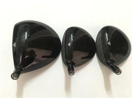 Juego de madera T2 S2 Golf Woods Golf Clubs Driver + Fairway Woods R / S / SR Flex KUROKAGE 55 Eje de grafito con tapa de cabeza desde fabricantes