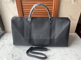 2019 gros sacs à fourrure 2016 nouvelle mode hommes femmes voyage sac de sport sac, sacs à main en cuir de grande capacité sport sac 55CM gros sacs à fourrure pas cher