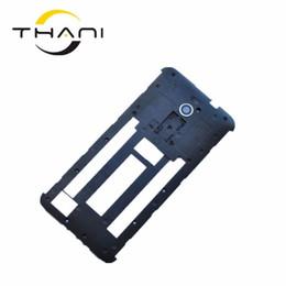 Thani Negro de las nuevas viviendas Chasis bastidor medio cubierta de la caja placa posterior Con la lente de la cámara para Asus Zenfone 2 ZE551ML ZE550ML Shipp libre desde fabricantes