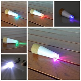 faro recargable Rebajas Botella de vino LED Luz de noche Lámpara de tapa de tapón de corcho recargable con forma de corcho mágico USB Decoración navideña luces románticas creativas para vacaciones