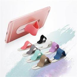 Mobile kostenlose geschenke online-Neue handyhalter kreative ring halterung multifunktionale back paste feste halterung geschenke mischfarben dhl fedex frei