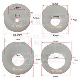Weiße kappenschrauben online-SHENLIN Capping Kopfwerkzeug Capping, Verschrauben chuck, Kronkorken Schraub-Verschließer, Silikonkopf, 20-30mm, Antiverschleiß-, weiß