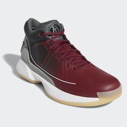 d aumentou sapatos novos Desconto 2019 Nova Mens D Rose 10 Tênis de basquete de alta qualidade Rose mans 10 s Tênis Esportivos homens Designer Chaussures masculino preto branco Formadores