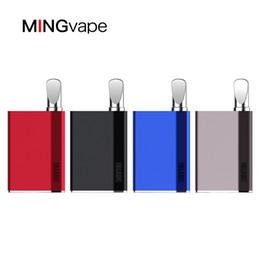 Canada 100% d'origine mod Mingvape Iblade stylo vape 400mAh batterie de préchauffage batterie Palm Box vaporisateur pour 510 fil E Cig VS Vmod Imini Magic 710 cheap original e cig mods Offre