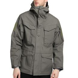SFIT 2019 Erkekler Kapşonlu Taktik Ordu Ceket Bahar Sonbahar Dış Giyim Rüzgar Geçirmez Ceketler Erkekler Su Geçirmez Rüzgarlık Mont supplier tactical hooded jacket nereden taktik kapüşonlu ceket tedarikçiler