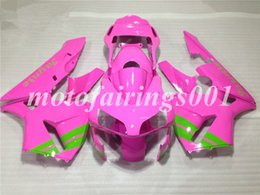 pink honda motorcycles Promo Codes - Custom Injection Mold New motorcycle parts for HONDA CBR 600 2003 2004 CBR600 RR F5 fairings CBR 600 RR 03 04 ABS fairing Pink green