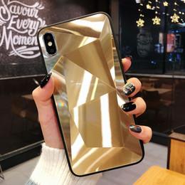 Желе мягкие чехлы онлайн-Для Samsung galaxy J4 6 8 Plus 2018 Акриловый Алмазный Желе Mobile Shell Soft Edge Стильный Чехол для телефона