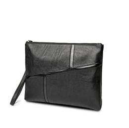 Fabrik Großhandel Marke koreanische Mode Männer Ledertasche Handtasche Trend Umschlag Tasche Retro Casual Mens Business Casual Datei Aktentasche von Fabrikanten