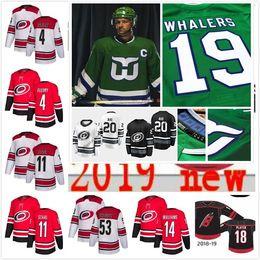 7e55fec5c Custom Men 2019 All Star Lady Kids 20 Sebastian Aho Jeff Skinner Svechnikov  de Haan Micheal Williams Staal Carolina Hurricanes Hockey Jersey discount  ...