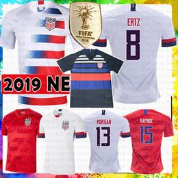 camisetas de futbol blancas de italia Rebajas América Estados Unidos EE.UU. fútbol Jersey LLOYD KRIEGER MORGAN RIPINOE Pulisic McKennie Weah camiseta de fútbol PUGH HAMM HEATH CAMPEONES